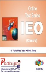 Practice Guru IEO Class 5 , 15 Topic Wise Tests Mock Tests English Online Test