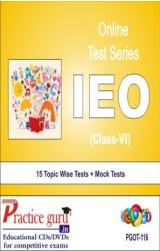 Practice Guru IEO Class 6 , 15 Topic Wise Tests Mock Tests English Online Test