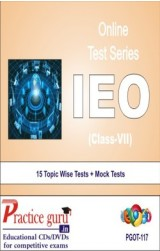 Practice Guru IEO Class 7 , 15 Topic Wise Tests Mock Tests English Online Test