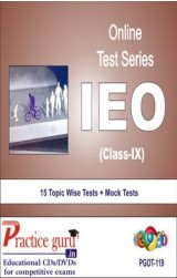 Practice Guru IEO Class 9 , 15 Topic Wise Tests Mock Tests English Online Test