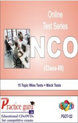 Practice Guru NCO Class 3 , 15 Topic Wise Tests Mock Tests English Online Test