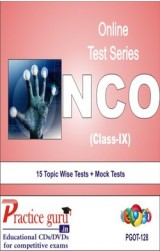 Practice Guru NCO Class 9 , 15 Topic Wise Tests Mock Tests English Online Test
