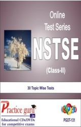 Practice Guru NSTSE Class 2 , 30 Topic Wise Tests English Online Test