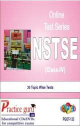 Practice Guru NSTSE Class 4 , 30 Topic Wise Tests English Online Test