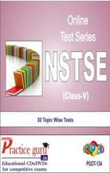 Practice Guru NSTSE Class 5 , 30 Topic Wise Tests English Online Test