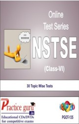 Practice Guru NSTSE Class 6 , 30 Topic Wise Tests English Online Test