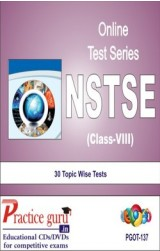 Practice Guru NSTSE Class 8 , 30 Topic Wise Tests English Online Test