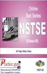 Practice Guru NSTSE Class 9 , 30 Topic Wise Tests English Online Test
