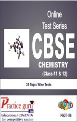 Practice Guru Chemistry Class 11 & 12 , 35 Topic Wise Tests English Online Test