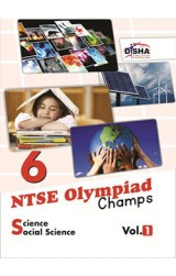 NTSE-NMMS/ OLYMPIADS Champs Class 6 Science/ Social Science Vol 1