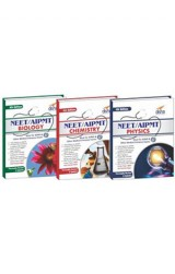 Crack NEET/ AIPMT Physics/ Chemistry/ Biology (set of 3 books) - 4th Edition