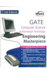 GATE Computer Science & Information Technology Masterpiece 2016 with 4 Mock Test CD 3rd edition