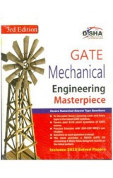GATE Mechanical Engineering Masterpiece 2016 with 4 Mock Test CD 3rd edition