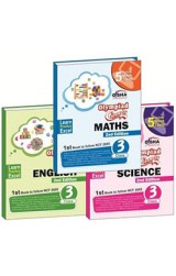 Olympiad Champs Science, Mathematics, English Class 3 with 15 Online Mock Tests 2nd Edition (set of 3 books)
