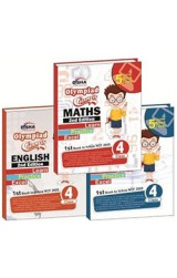 Olympiad Champs Science, Mathematics, English Class 4 with 15 Mock Online Olympiad Tests 2nd Edition (set of 3 books)