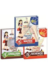 Olympiad Champs Science, Mathematics, English Class 5 with 15 Mock Online Olympiad Tests 2nd Edition (set of 3 books)