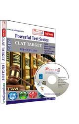 CLAT Target Test Series English - CD