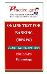 Percentage for Banking