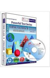 Smart Series Class 4 - Maths, EVS & English Combo CD English
