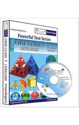 Smart Series Class 7 - Maths, Science & English Combo CD English