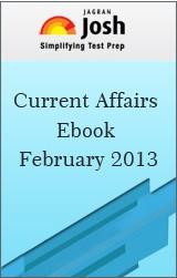 Current Affairs eBook February 2013