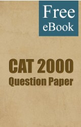 CAT 2000 Question Paper free eBook