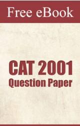CAT 2001 Question Paper free eBook