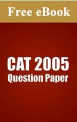 CAT 2005 Question Paper free eBook