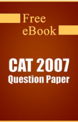 CAT 2007 Question Paper free eBook