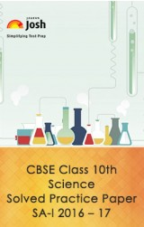 CBSE Class 10th Science Solved Practice Paper SA- I : 2016 -17  eBook