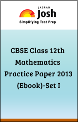 CBSE Class 12th Mathematics Practice Paper(Ebook)-Set I