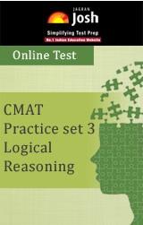 CMAT Practice Set 3: Logical Reasoning - Online Test