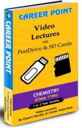 IIT JEE Main/Advanced/AIPMT Chemistry for Class 11 Video Lectures (1 Yr.) Pen Drive