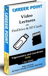 IIT JEE Main/Advanced Video Lectures for Trigonometry and Coordinate (1yr.) on SD Card