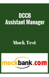 DCCB Assistant Manager - MockTest (Series of 3) By Mockbank in English - Online Test