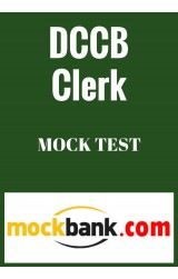 DCCB Clerk - MockTest (Series of 10) By Mockbank in English - Online Test
