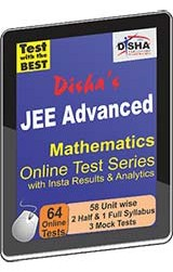 Disha's JEE Advanced 2015 Online Test Series - Mathematics with Insta Results and Analytics