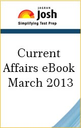 Current Affairs eBook March 2013