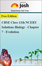 CBSE Class 12th NCERT Solutions Biology - Chapter 7 - Evolution