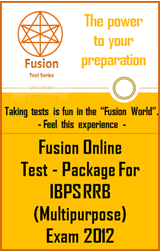 Test Package:IBPS RRB (Multipurpose) Exam 2012
