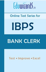IBPS Bank Clerk by Eduwizards - Online Test