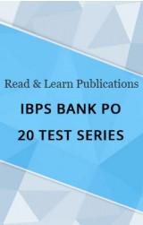 IBPS Bank PO 20 Test Series eBook
