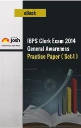 IBPS Clerk Exam 2014: General Awareness: Practice Paper (Set-1)