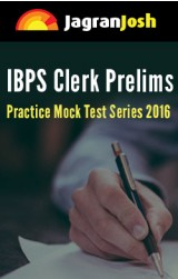 IBPS Clerk exam prelims mock test Series