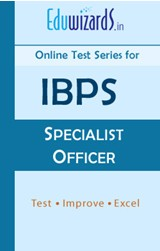 IBPS Specialist Officer by Eduwizards - Online Test