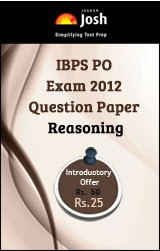 IBPS PO Exam 2012 Question Paper Reasoning - Online Test