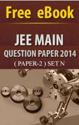 JEE Main Question Paper 2014 (paper-2) Set N