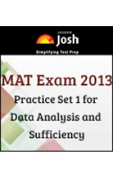 MAT Exam 2013 :Practice Set 1 for Data Analysis and Sufficiency  - Online Test