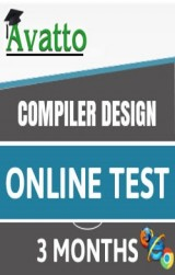 Compiler Design Online Test 3 by Avatto