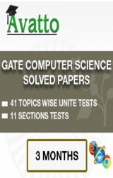 GATE Computer Science Solved Papers Online Test 3 by Avatto